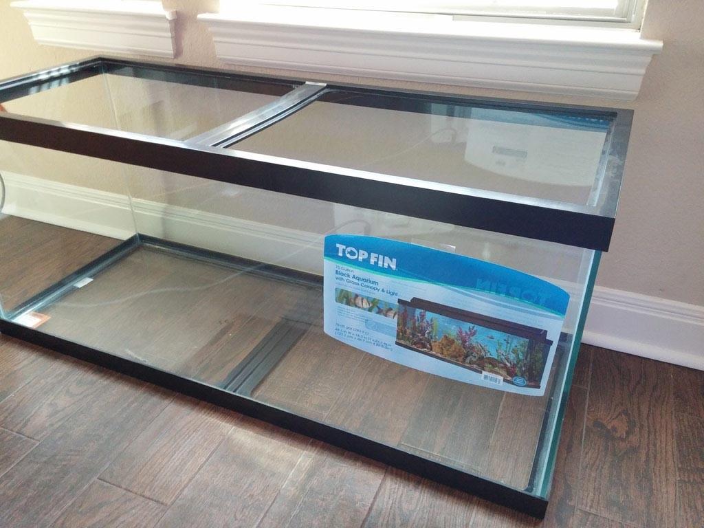 100 Gallon Aquarium Sump Size