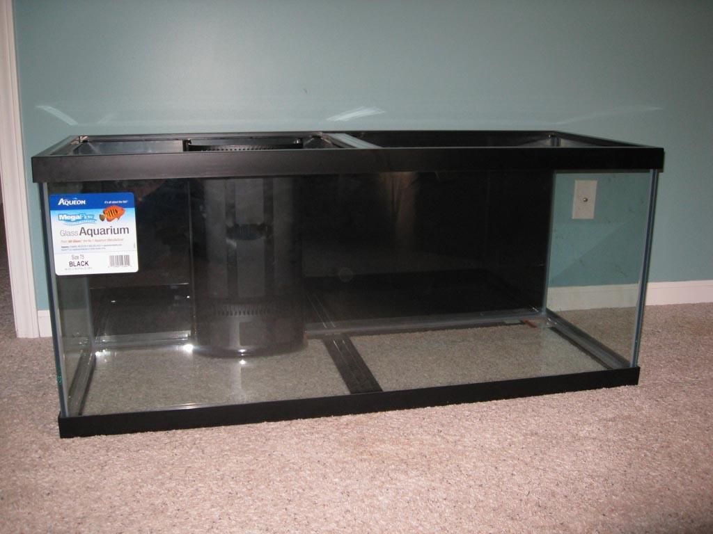 75 Gallon Glass Aquarium