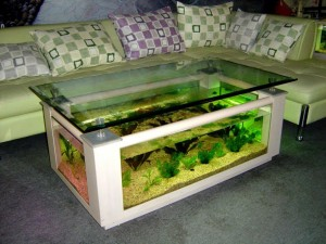 Aqua Coffee Table 675 Aquarium