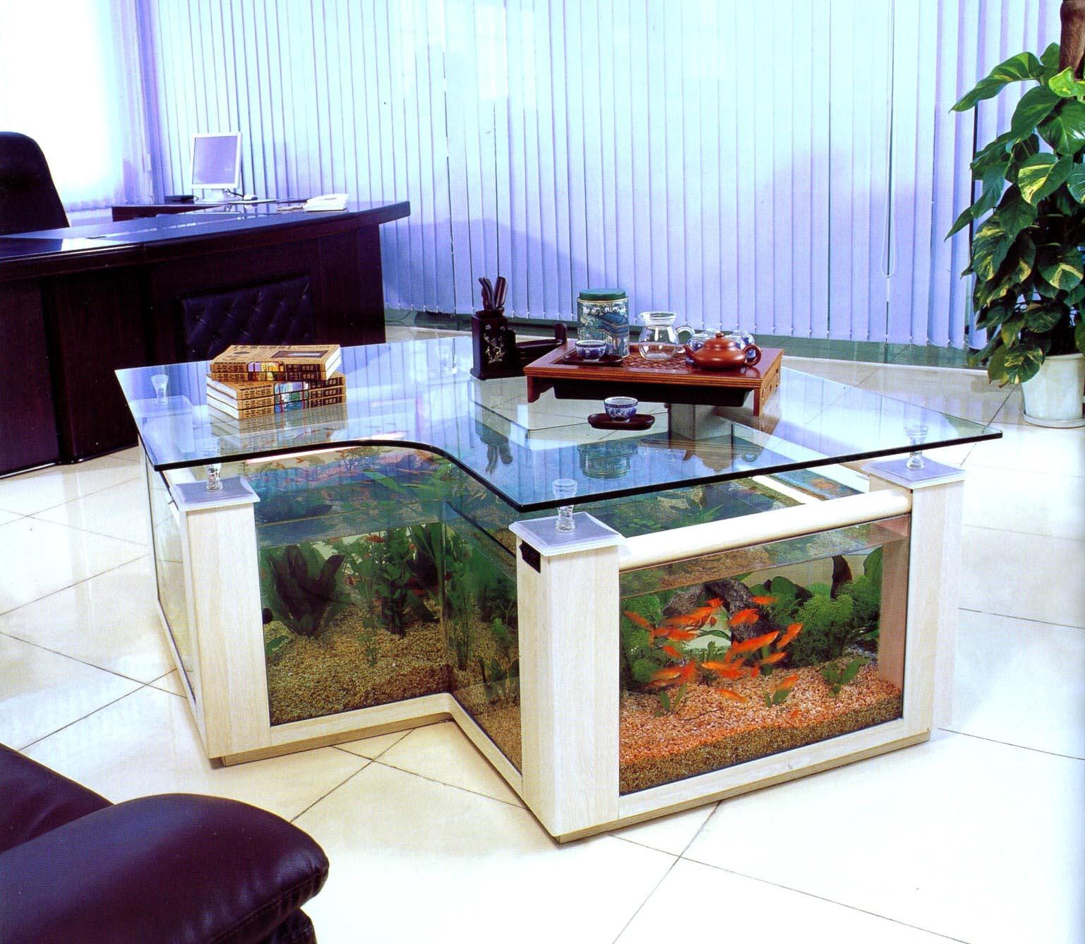 Aqua Coffee Table Aquarium