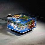 Aqua Square Coffee Table Aquarium