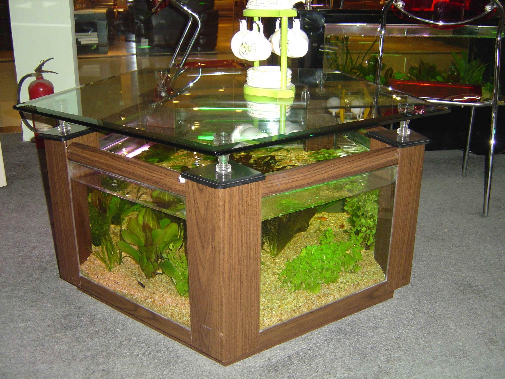 Aquarium Coffee and End Tables