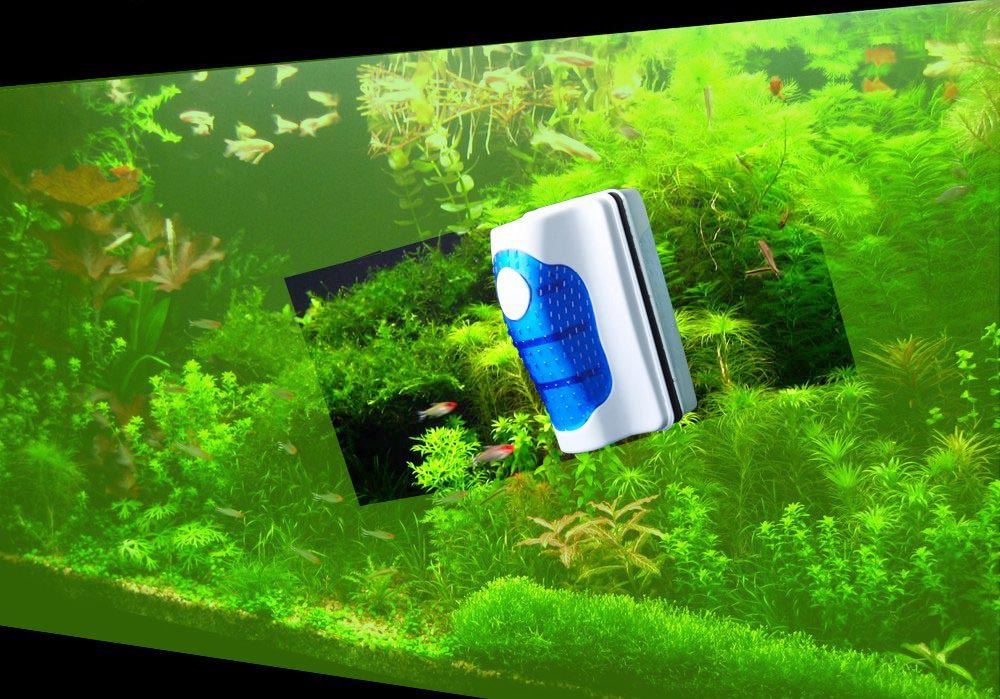 Aquarium Glass Cleaner Magnetic