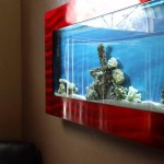Aquavista 500 Wall Mounted Aquarium with Rama Background