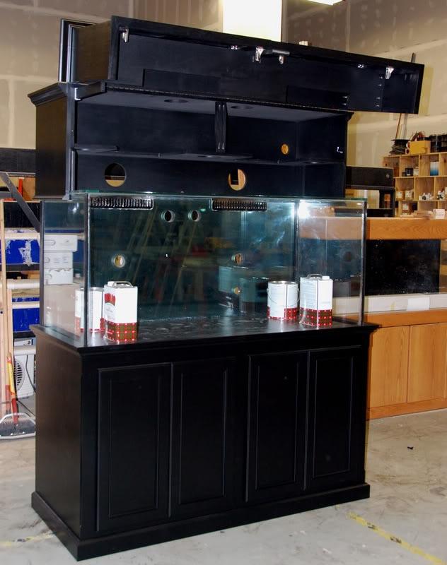 Custom Aquarium Stands and Canopies