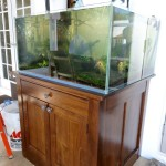 Custom Wood Aquarium Stand