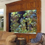 Digital Wall Mounted Aquarium