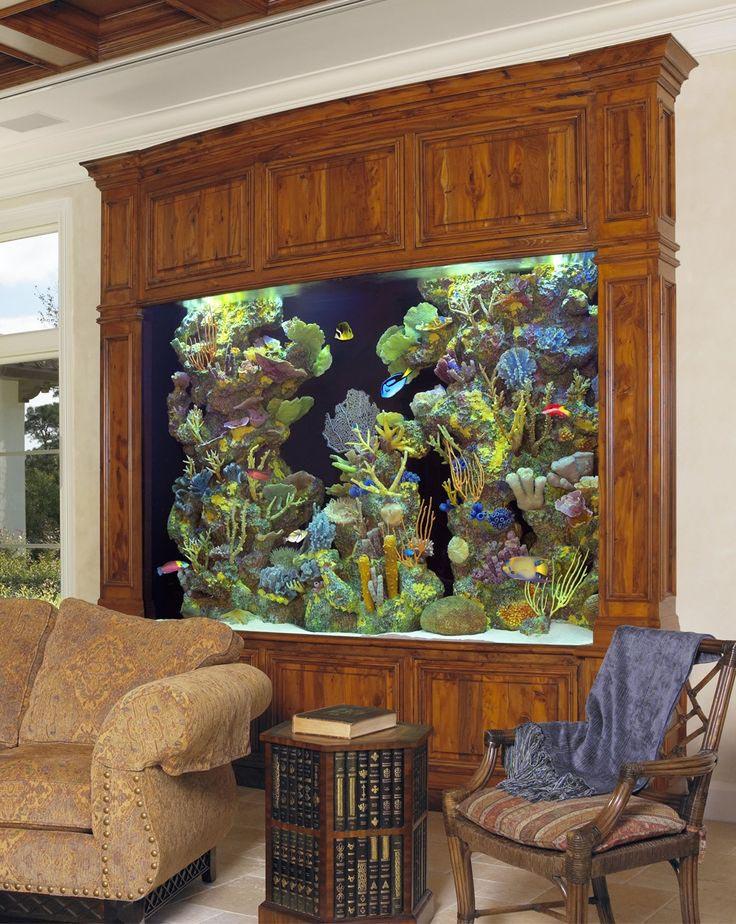 Digital Wall Mounted Aquarium