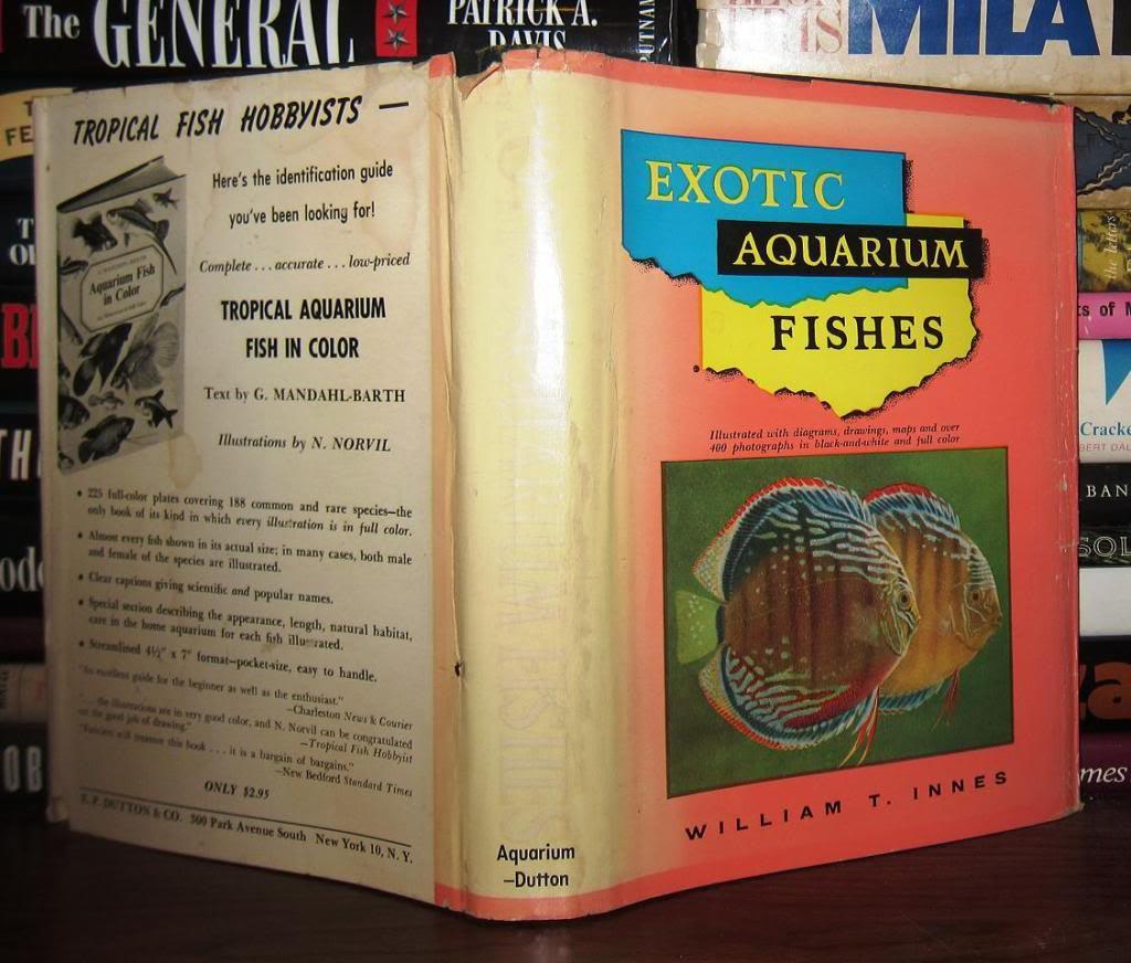 Exotic Aquarium Fishes First Edition