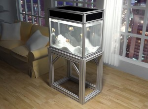 Fish Aquarium and Stand