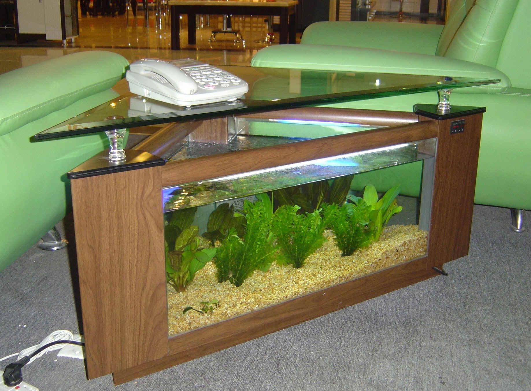 Fish Aquarium Coffee Tables