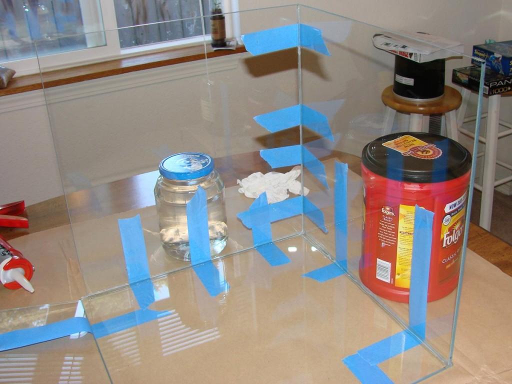 Glass for Aquarium Build
