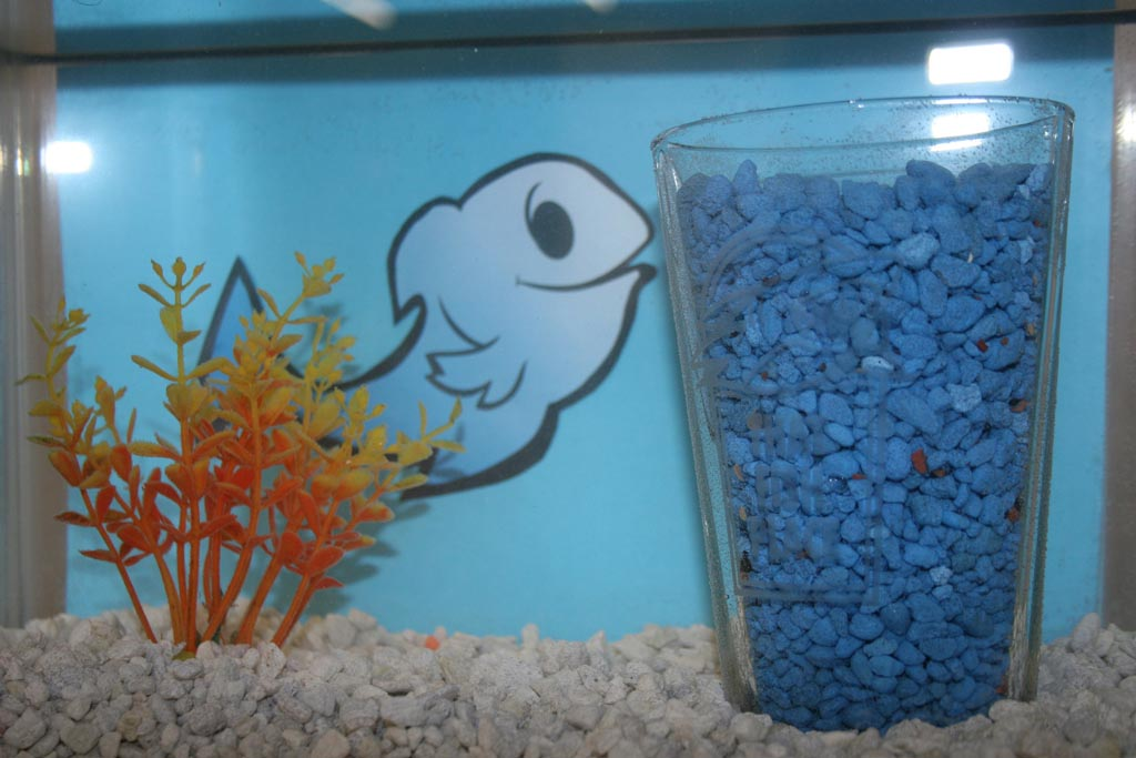 Homemade fish aquarium decorations aquarium design ideas for Aquarium decoration paint