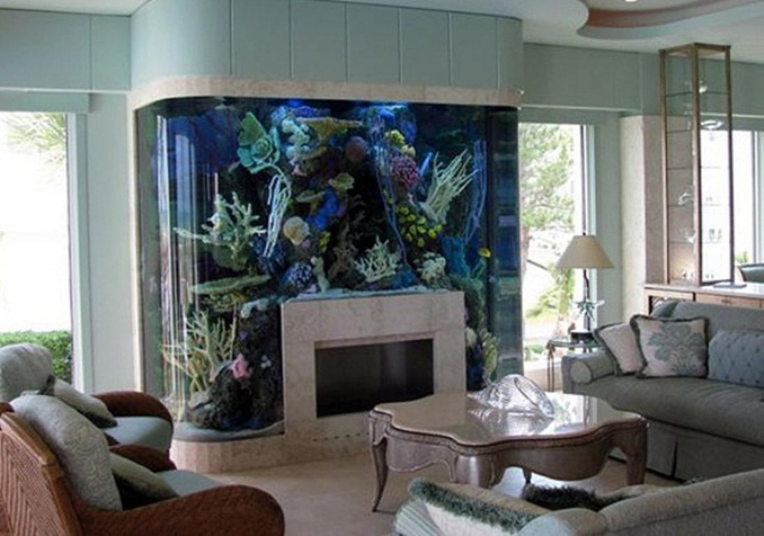 Living Art Wall Mounted Aquarium