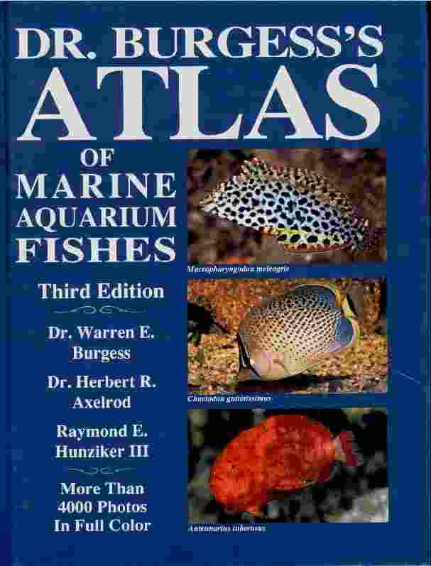 Marine Aquarium Fish Books