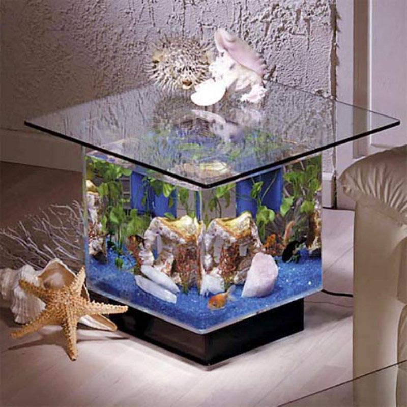 Midwest Tropical Coffee Table Aquarium