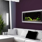Plasma TV Style Wall Mounted Aquarium