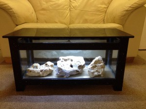 Salt Water Coffee Table Aquarium