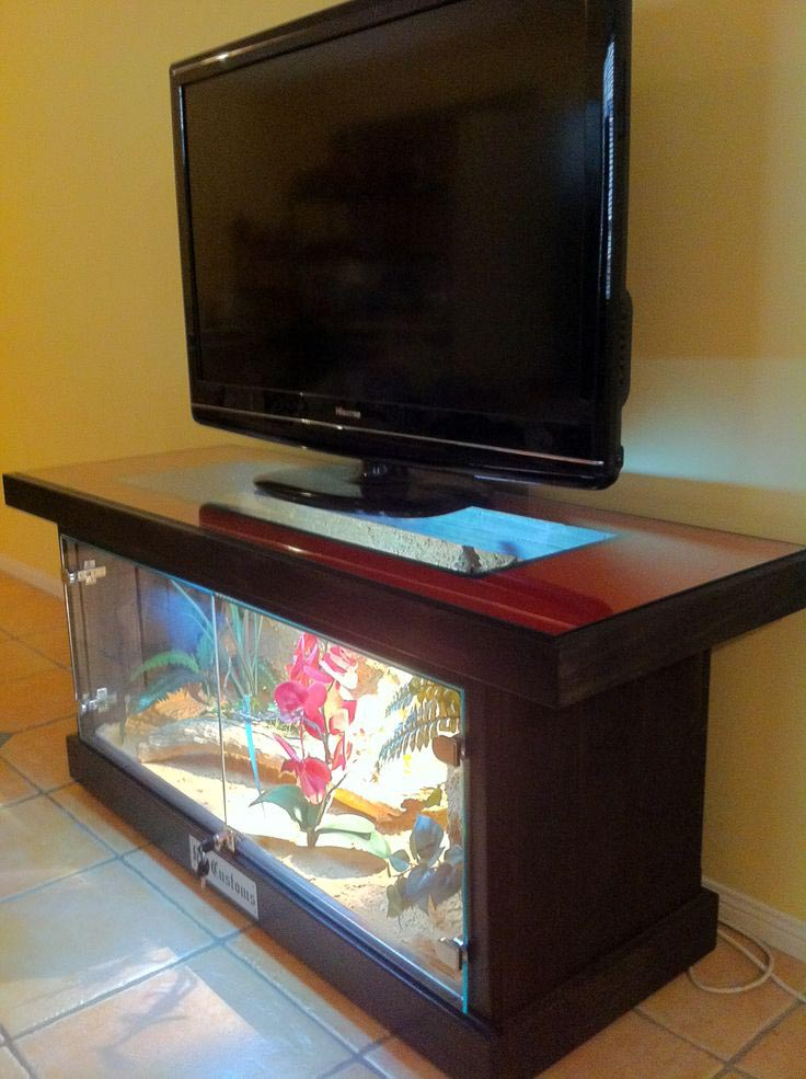 Turtle Aquarium Coffee Table